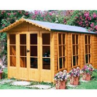13X7 Kensington Shiplap Timber Shed Assembly Included