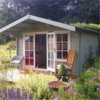 12X10 Cannock 28mm Tongue & Groove Timber Log Cabin