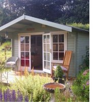 Shire 12X12 Cannock 28mm Tongue & Groove Timber Log Cabin with Assembly Service