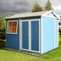 10X7 Mammoth Loglap Timber Shed