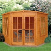 7X7 Hampton Shiplap Timber Summerhouse with Assembly Service