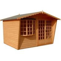 Shire Sandringham 10x10 Apex Shiplap Wooden Summer house