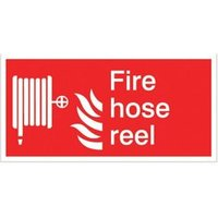 Fire extinguisher symbol Fire information sign  (H)100mm (W)200mm