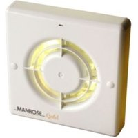 Manrose MG100T Bathroom Extractor Fan with Timer (D)98mm