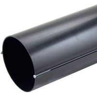 Manrose Black Solid wall duct (L)0.35m (Dia)150mm