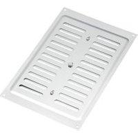 Manrose Silver Adjustable air vent