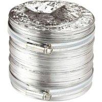 Manrose Aluminium Flexible Ducting hose (L)2.5m (Dia)100mm