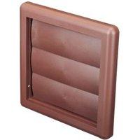 Manrose Brown Air vent & gravity flap