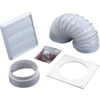 Manrose V43076 Cooker hood vent kit (D)100mm