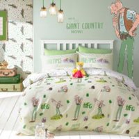 Roald Dahl Big Friendly Giant Multicolour Single Bed Set