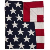 American Freshman Stars & Stripes Knitted Throw