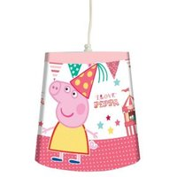 Pink Peppa Pig Fun Fair Light Shade (D)24cm