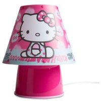 Hello Kitty Pink Printed Desk Lamp