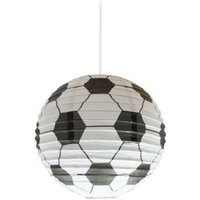 Colours Black & White Football Light Shade (D)24cm