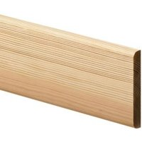 Smooth Bullnose Architrave (T)12mm (W)69mm (L)2100mm  Pack of 5