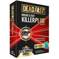 Deadfast Rodents Rodenticide Pack of 15