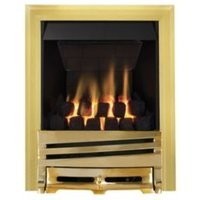 Focal Point Horizon Multi Flue Brass Manual Control Inset Gas Fire