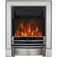 Focal Point Soho Black LED Electric Fire