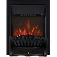 Focal Point Elegance Black LED Electric Fire