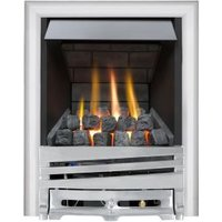 Focal Point Horizon multi flue Chrome Manual Control Inset Gas fire