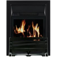 Focal Point Horizon Black LCD Remote Control Electric Fire