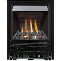 Focal Point Horizon multi flue Black Manual Control Inset Gas fire