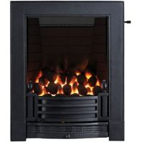 Focal Point Finsbury full depth Black Slide Control Inset Gas fire
