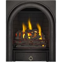 Focal Point Arch Black Manual Control Inset Gas Fire