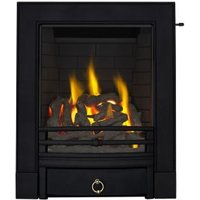 Focal Point Soho Black Slide Control Inset Gas Fire