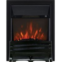 Focal Point Horizon Black LED Remote Control Electric Fire