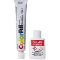 Unika White glitter Matt Worktop Sealant & adhesive 20ml