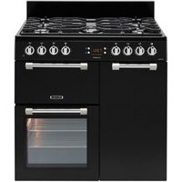 Leisure Cookmaster CK90F232K Freestanding Dual fuel Range cooker with Gas Hob.