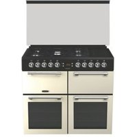 Leisure CC100F521C Freestanding Dual fuel Range cooker with Gas & electric Hob