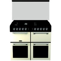 Leisure Chefmaster CC100F521C Freestanding Dual fuel Range cooker with Gas and electric Hob