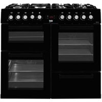 Beko Dual Fuel Cooker with Gas Hob  KDVF100K