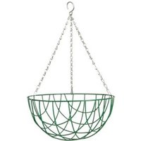 Gardman Basic Green Hanging basket 304.8 mm
