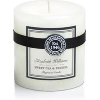 Elizabeth Williams Sweet pea & freesia Pillar candle