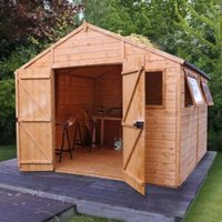 10x10 Shiplap Wooden Workshop With assembly service