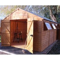 20X10 Shiplap Timber Workshop with Assembly Service