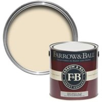 Farrow & Ball New White No.59 Matt Estate Emulsion Paint 2.5L