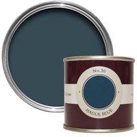 Farrow & Ball Estate Hague blue No.30 Emulsion paint 0.1L Tester pot