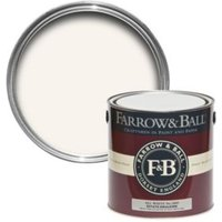 Farrow & Ball All White No.2005 Matt Estate Emulsion Paint 2.5L