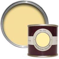 Farrow & Ball Dayroom Yellow No.233 Estate Emulsion Paint 0.1L Tester Pot