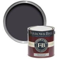 Farrow & Ball Estate Paean black no.294 Matt Emulsion paint 2.5L