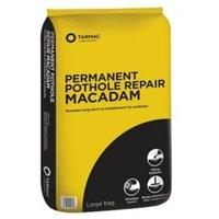 Tarmac Permanent repair Ready mixed Pothole Macadam 25kg Bag