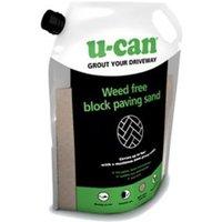 U-Can Weed Free Paving sand 12kg Bag