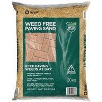Tarmac Weed Free Paving sand 20kg Bag