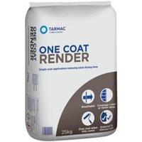 Tarmac One coat Ready mixed Render 25kg Bag