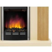 Be Modern Dallington Natural LED Electric Fire Suite