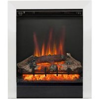 Be Modern Fremont Chrome Effect LED No Remote Control Electric Fire